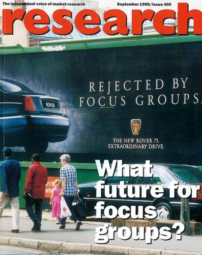 Reserach Magazine Front Cover