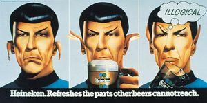 Spock Hein ad
